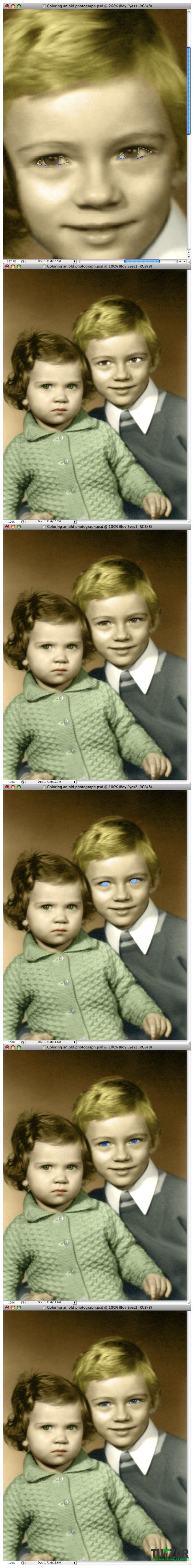 Как сделать черно-белое фото цветным в Фотошопе. Поэтапный