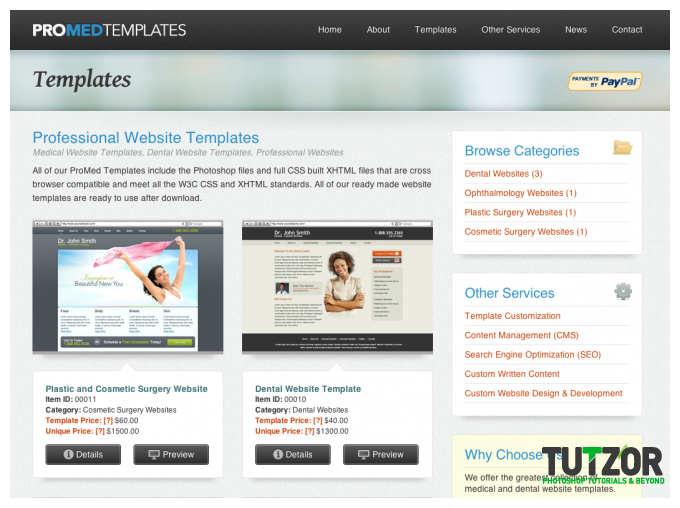 rating website template | Template