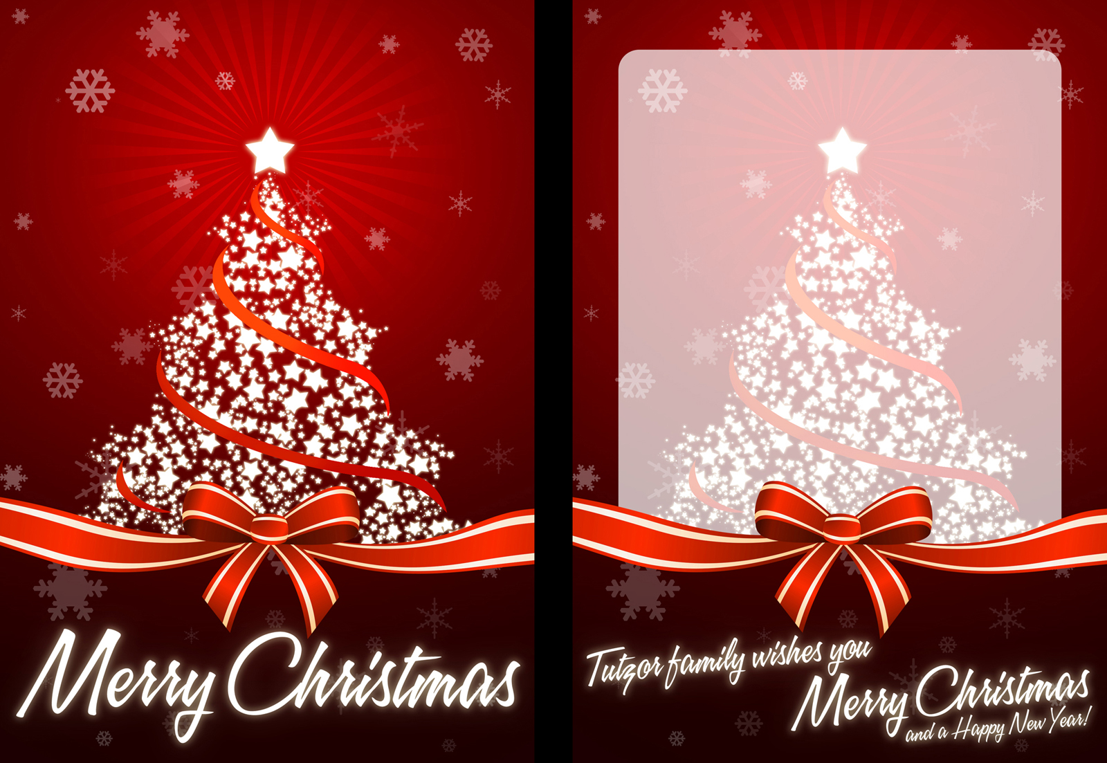 How to create your own Christmas card, ready for print | Tutzor